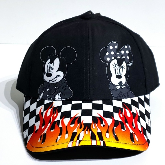 86597328 Vans Accessories | X Disney Mickey Mouse Minnie Mouse Flamed Hat ...